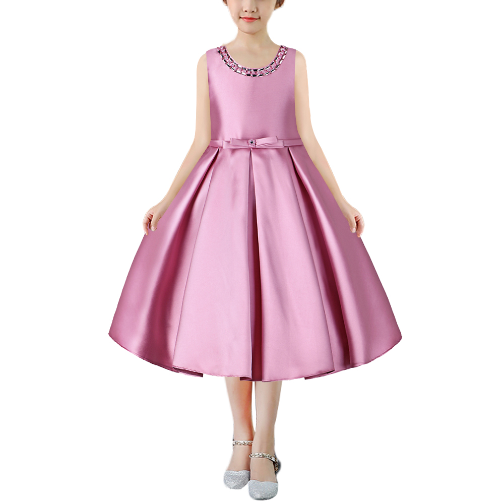 BAOHULU Todder Girls Dress for Wedding Girl 2-9 Years Birthday Costume Outfits Children Party Wear Formal Dresses Kids Clothes