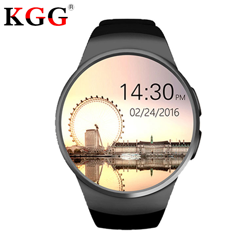 KW18 Smart Watch Support SIM TF Card Heart Rate Monitor MTK2502 Smart sport watch for Android