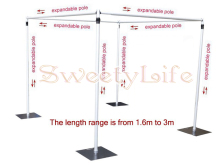 Wedding square canopy/chuppah/arbor drape stand wedding props,wedding square pipe,wedding backdrop stand