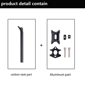 Image 5 - No Logo Bicycle Seat Posts Carbon Road/Mtb 3K Gloss/Matte Offset Seat post 25.4/27.2/30.8/31.6 Ultra light Bicycle Seatpost