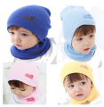 1 PCS Unisex Cotton Beanie Baby Hat Children NewBorn Cute Candy Color Baby Boy/Girl Soft Toddler Infant Cap Accessories