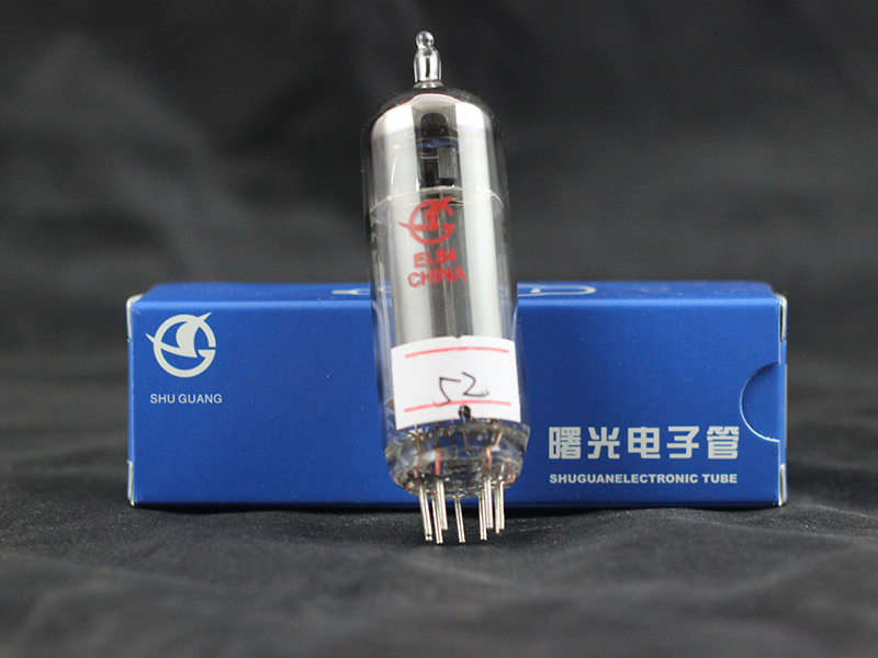 Export type Changsha Shuguang electron tube EL84 6P14 factory direct warranty one year vacuum tube Level Measuring Instruments     - title=