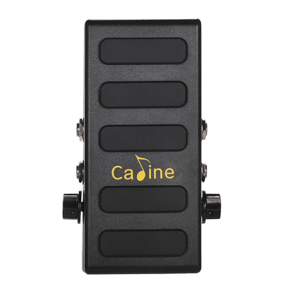 Caline CP 31P Guitar Volume Pedal Dual Channels with Boost Function True Bypass Full Metal Shell