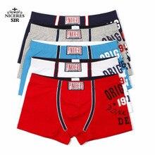 3cdcf0343 Rosa herói roupa interior dos homens por atacado moda sexy shorts calças  famosas dos homens da marca boxers cuecas sexy dos home.