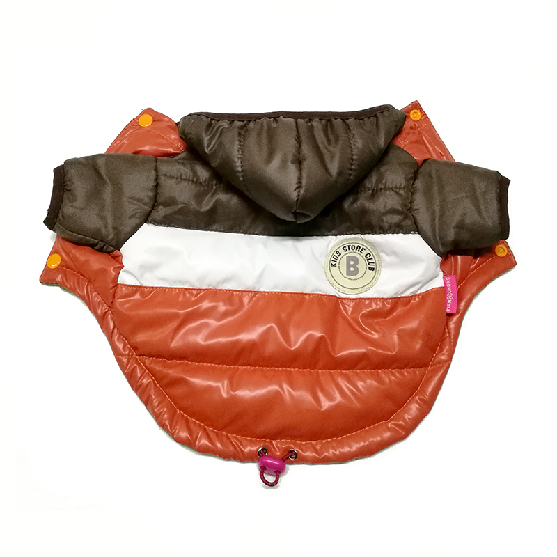 Waterproof and Hooded Dog Jacket with Leash Hole Ideal for Autumn/Winter Season 23