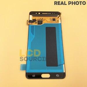 "Image 3 - 5.7 ""inç LCD ekran Samsung Galaxy not 7 için LCD dokunmatik ekran Digitizer meclisi not 7 FE N930 n930F ekran yerine"