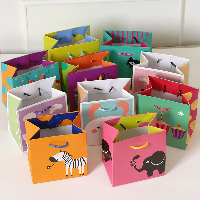 Cute Gift Bags For Kids Small Paper BagsKawaii Animal GIdea for birthdayshoppingstorage bag & ?Cute Gift Bags For Kids Small Paper BagsKawaii Animal GIdea for ...