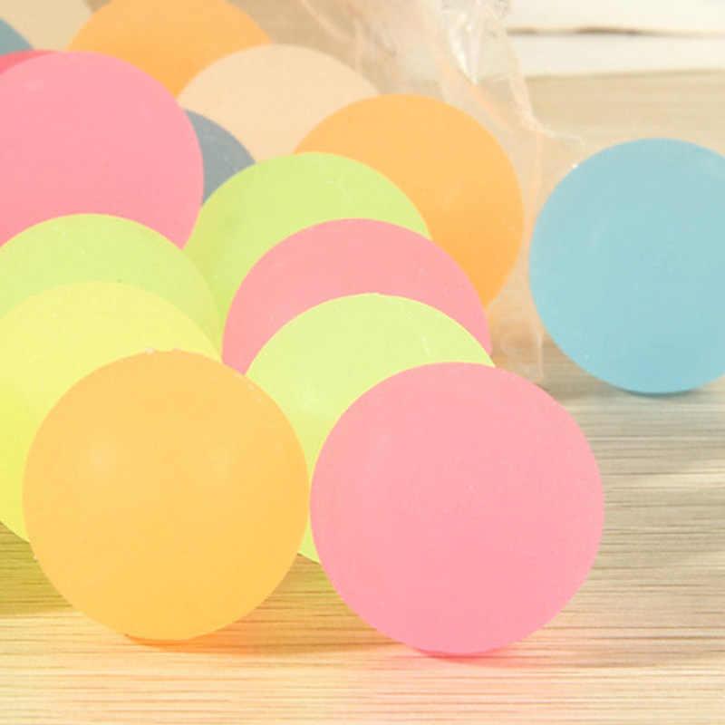 10 шт. высокий отскок резиновый шар светящийся маленький надувной шар наполнители для пиньяты Детские игрушки: бинокль и лупа сумка светится в темноте