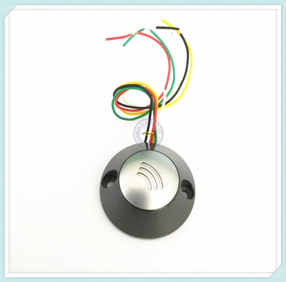 Waterproof 13.56M MF1 S50 RFID WG26 Access Control READER/RF MOUNTED IC READER 13 56mhz waterproof wg26 rfid ic reader for access control