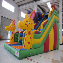 animal cartoon inflatable bouncer