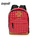 Canvas Backpacks Women Rucksacks Star Printing Kids School Shoulder Bags Children Girls Mochilas Cute Small Packbags