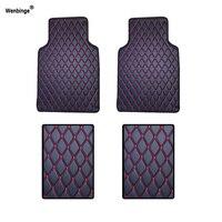 Wenbinge car floor mats for Tesla Model S model X Dodge charger Caravan Caliber Avenger Journey car accessories styling foot mat