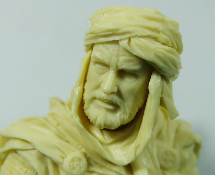 1/10 Resin bust Knights of the ancient war  Unpainted X091/10 Resin bust Knights of the ancient war  Unpainted X09