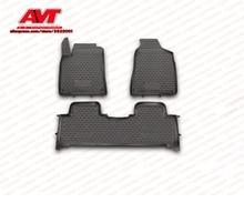 Коврики для SsangYong новые Actyon шт. 2010-3 шт. резиновые коврики Нескользящие резиновые интерьерные автомобильные аксессуары для укладки