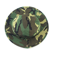 brand outdoor activities Military Fishing Bucket Cap Camping Hiking Wide Brim Camouflage Sun Hat