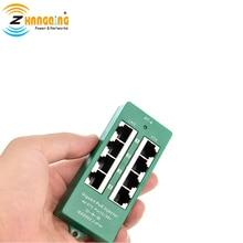 Inyector activo 802.3at PoE Gigabit Safe parche de Panel de 4 puertos PoE clase 4 para dispositivos PoE de Cisco, Aruba y cámara IP 48V 56V