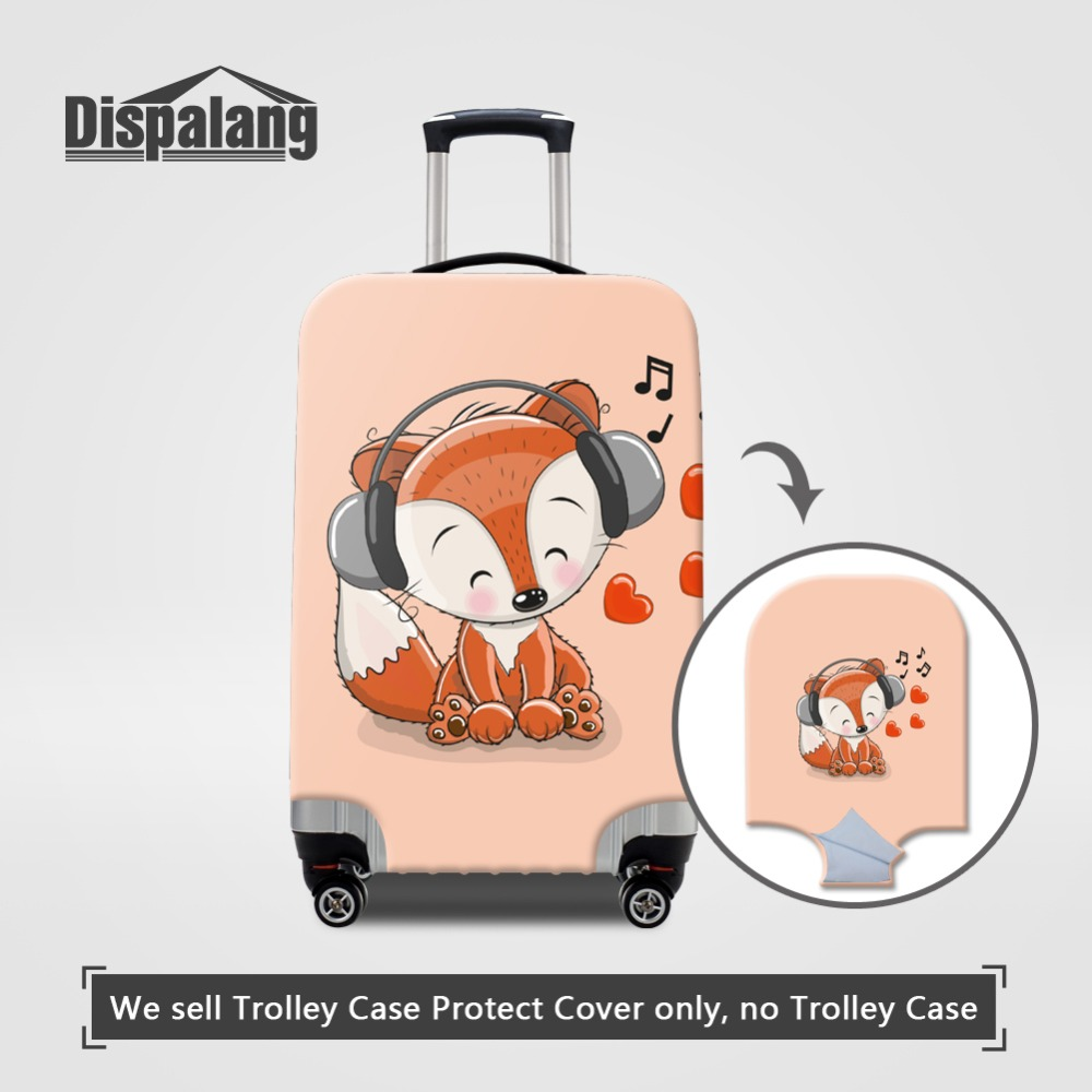 Portable Luggage Duffel Bag Hedgehog Illustration Travel Bags Carry-on In Trolley Handle