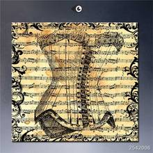 Music Steampunk Art Poster Print Wall Decor gift Landscape Rectangle Canvas Printings Impressionist 16×16 20×20 24×24 -84410-JQY