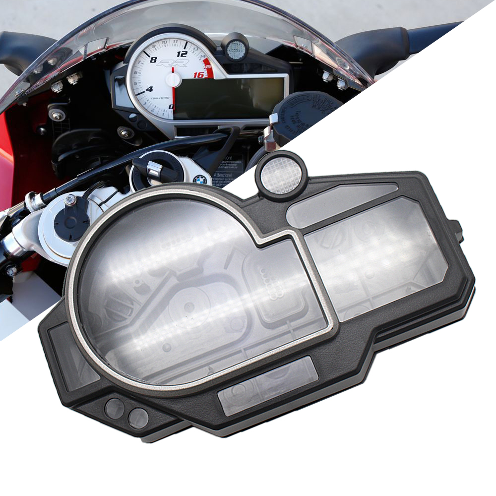 Speedometer Case Odometer Gauge Instrument Meter Cover Tachometer Housing for BMW S1000RR HP4 2009 2014 2013 2012 2011 2010