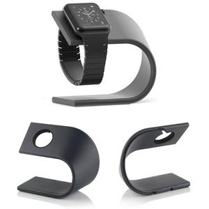 Image 1 - U Type smart watch holder Metal Kickstand Cradle Aluminum Charger Charging Stand Dock Station Bracket For Apple Watch iWatch