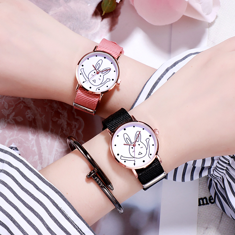 Watch Dial Retro Casual Stylish Bu Ulzzang Sail Atmospheric Korean-Style Female Roman