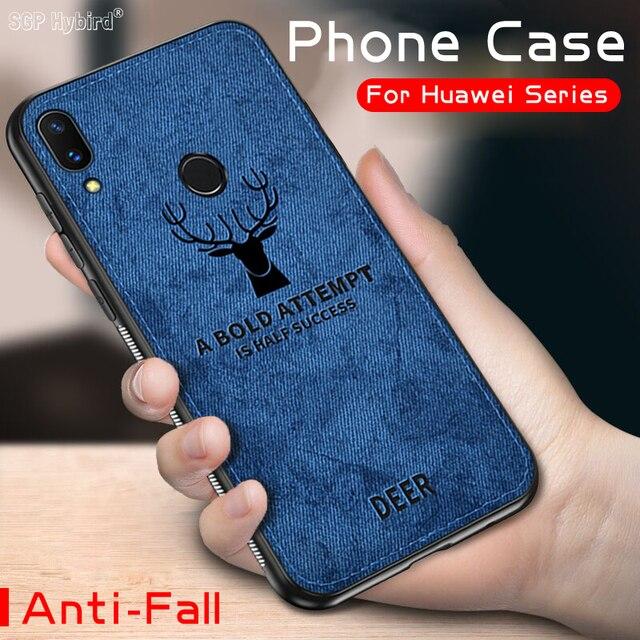 Caso de Huawei P20 P smart plus amigo 20 10 lite Pro Nova 3e 2i 3i 3 Honor 8x jugar 10 9 8 lite 7x suave TPU borde funda de teléfono