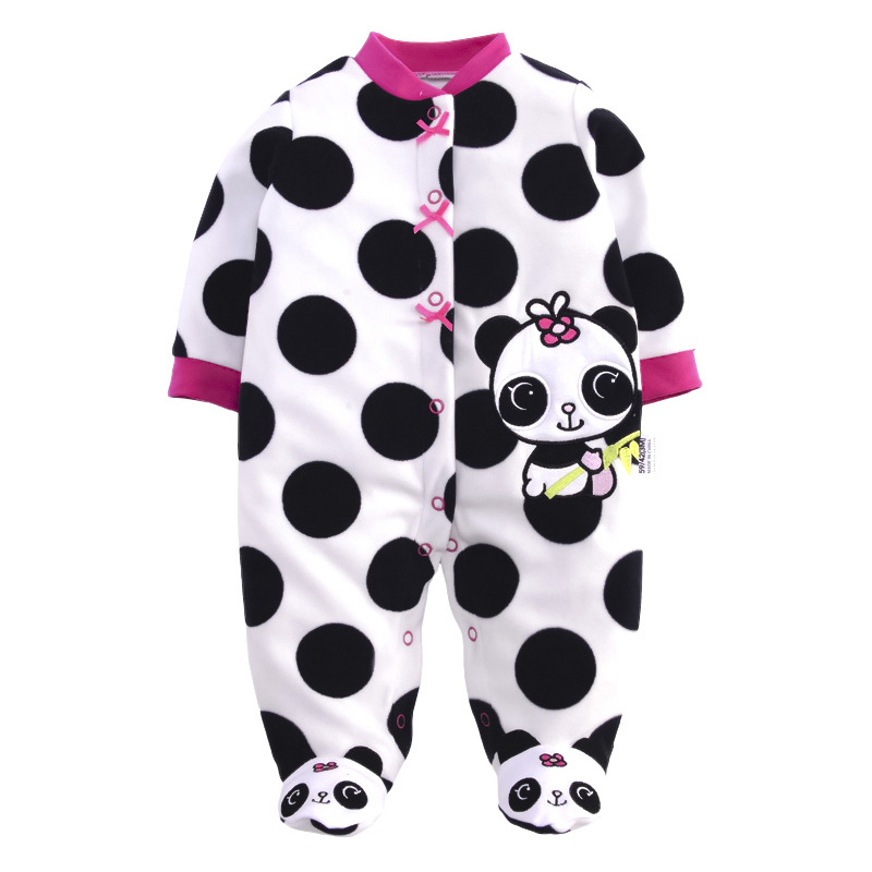 Baby Clothes Winter Baby Rompers Long Sleeve Fleece Jumpsuit Overalls for Newborn Baby Girl Boy Clothing Baby Christmas Snowsuit newborn baby boy rompers autumn winter rabbit long sleeve boy clothes jumpsuits baby girl romper toddler overalls clothing