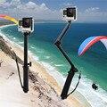 Три 3 way Selfie Ручной Придерживайтесь Монопод Складной Держатель для GoPro hero 4 3 + 3 2 Разворачивается Размер 20 дюйм(ов) Складной Размер 7.5 дюймов