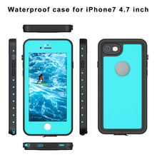 50pcs/lot Pepper Waterproof Mobile Phone Cover Dive Water/dirt/shock Proof case for iphone 7 plus Diving supplies