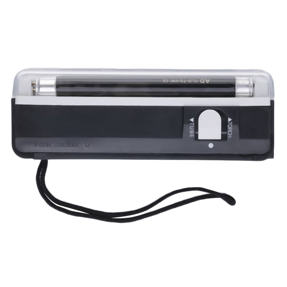 Money Checker Handheld Portable UV Led Light Torch Lamp Counterfeit Currency Money Detector Hand Checkering Tools
