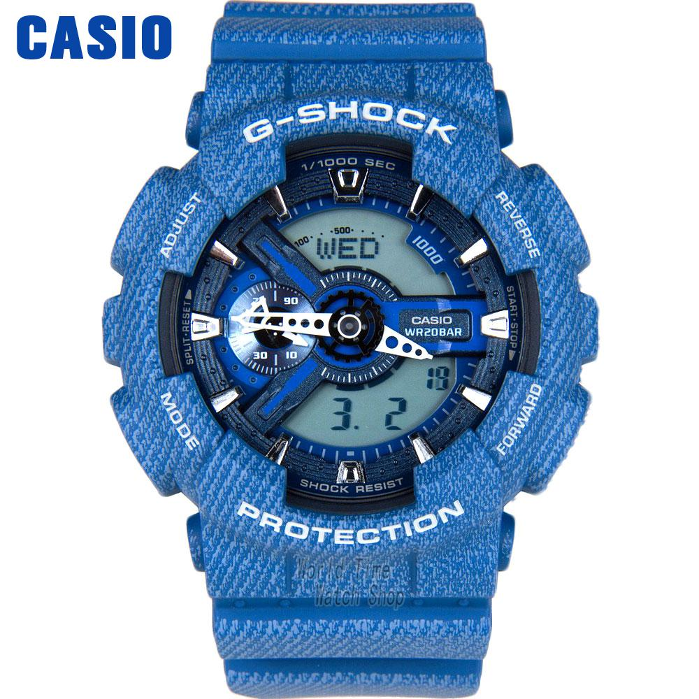 все цены на Casio watch Outdoor sports shock waterproof double significant men watch GA-110DC-2A GA-110DC-1A онлайн