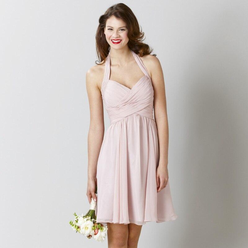 Halter Top Bridesmaid Dress Promotion-Shop for Promotional Halter ...