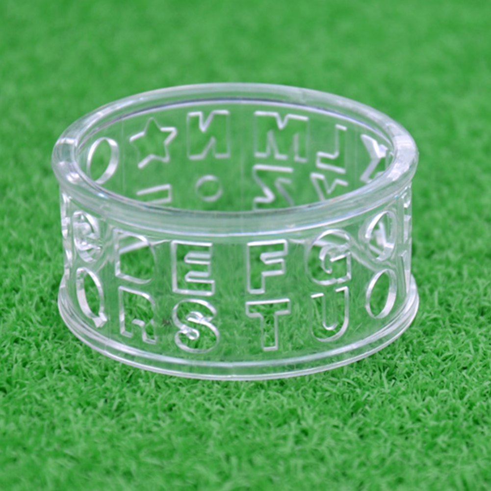 TONQUU Ball Letters Round Portable Transparent Easy Apply Monogrammer Alignment Golf