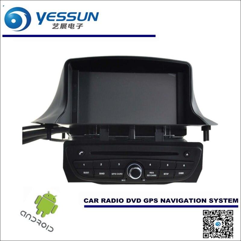 Android Sistema de Navegación del coche Para Renault Megane III 3 2008 ~  Radio