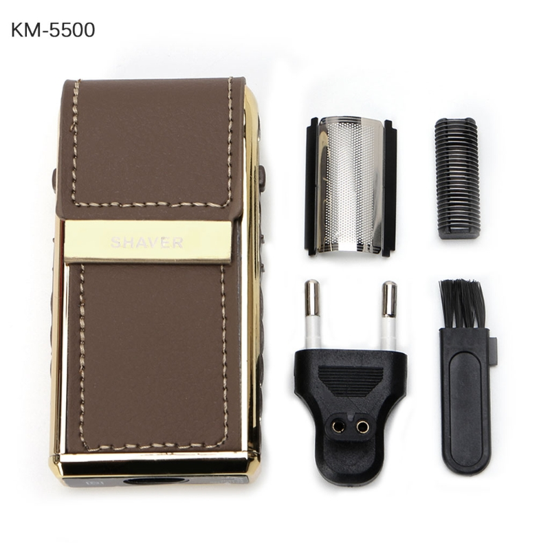 2 in 1 KEMEI 5500 Electric Portable Men Shaver Razor Haircut Rechargeable Gift philips brl130 satinshave advanced wet and dry electric shaver