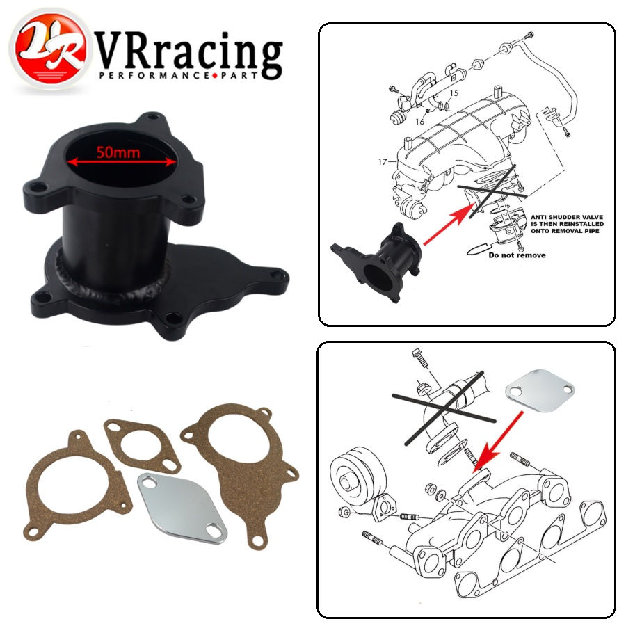 hight resolution of vr egr removal delete kit blanking plate for vw skoda octavia audi 2 0 tdi 03g131501b