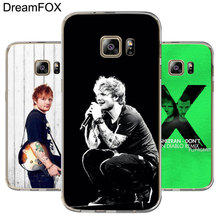 DREAMFOX M096 Ed Sheeran Soft TPU Silicone Cover Case For Samsung Galaxy S5 S6 S7 S8 S9 S10 S10E Lite Edge Plus edge ed 206 e2