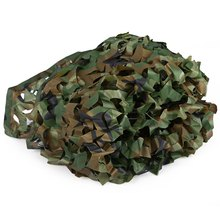 All Sizes Hunting Military Camouflage Net Woodland Army Camo Netting Car Covers Tactical Tent Shade Camping Sun Shelter