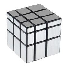 3x3x3 57 мм Волочения Проволоки Стиль Литые Покрытием Магический Кубик Вызов Подарки Зеркало Головоломки Кубики Обучающие игрушки Специальные Игрушки