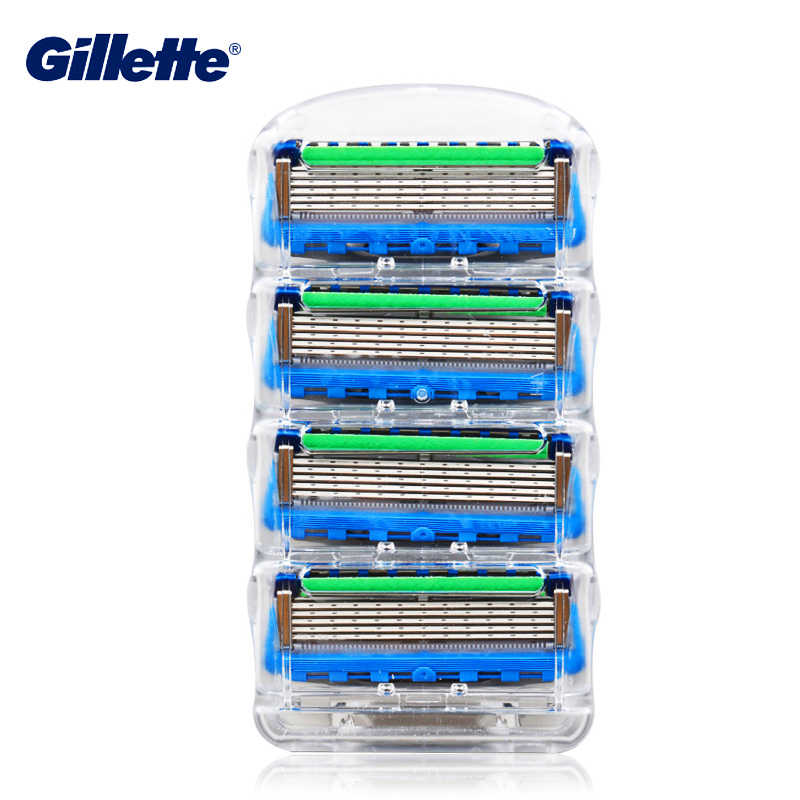 Gillette Fusion Listrik Flexball Blades Pisau Cukur Listrik Alat Cukur Pria Wajah Jenggot Mencukur Rambut Blades Kaset