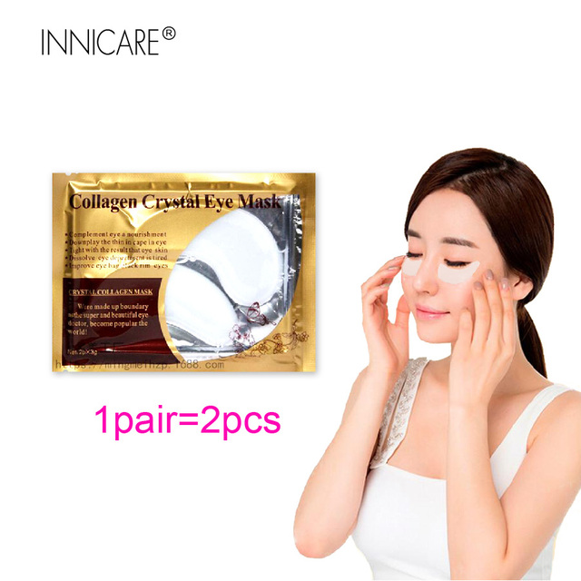 20Pcs=10Pairs Beauty 24K Gold Collagen Eye Mask Patches For Eye Dark Circle Anti-Aging Acne Korean Cosmetics Skin Care 3