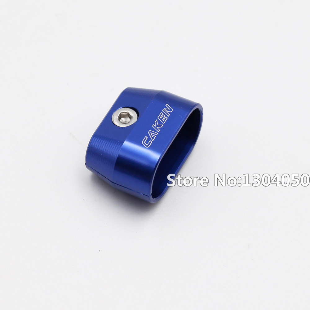 BLUE Dual Brake Throttle Cable Clamp Separator Wire Spacer Holder ...