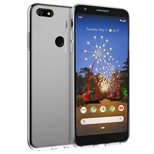 For Google Pixel 3A XL Case Silicone Slim Transparent Soft TPU Back Cover Shockproof Clear Funda