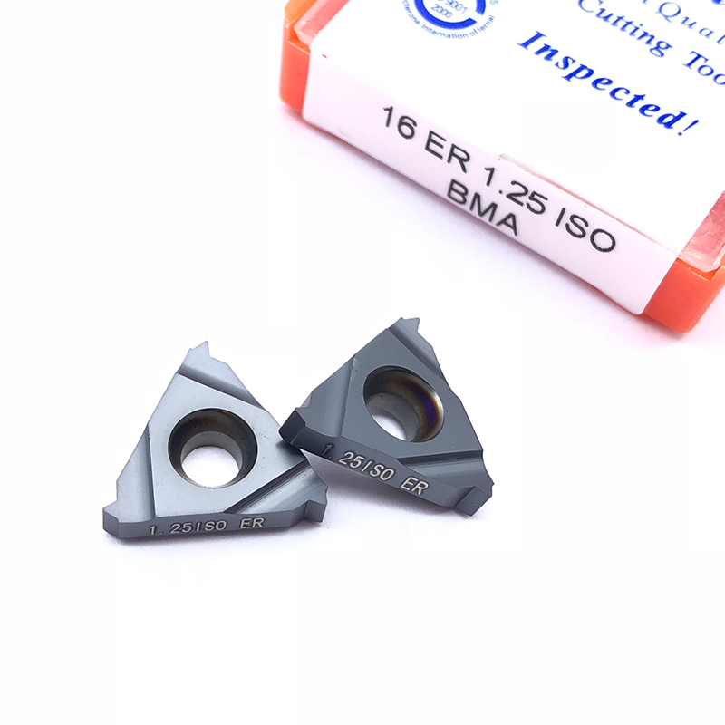 Image 5 - 10pcs 16ER 1.5 ISO BMA 0.75 1.25 2.0 3.0ISO Carbide Inserts Thread Cutting External Turning Tool CNC Cutter Blade SER TurretTurning Tool   -