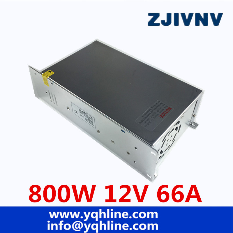 цена на S-800-12 Switching power supply 12v 800w ac to dc converter led driver 110V 220V SMPS For led strip display cctv and 3d printer
