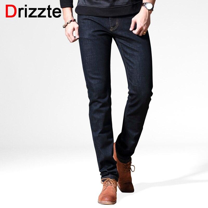 Drizzte Brand Winter Autumn New Style Fashion Black Slim Fit