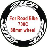 Outdoor Mountain Road Bike 700c 38or40 Wheel Stickers Bicycle Stickers Bike Decals Wheel Stickers 12pics/2Wheels/set
