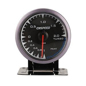 Image 3 - CNSPEED 60mm 7 Colors LED 12V BAR Turbo Boost Gauge Meter Sensor POD Universal For Honda Car Boost Turbo Meter Auto Gauge