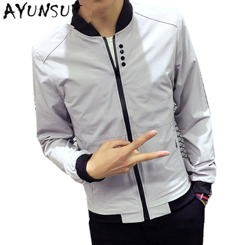 Detail Feedback Questions About Ayunsue Jacket Men Summer Thin