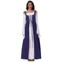 Belle Poque Gothic Maxi Dress Women Autumn Winter Lace Up Sleeveless Punk Street Evening Halloween Christmas